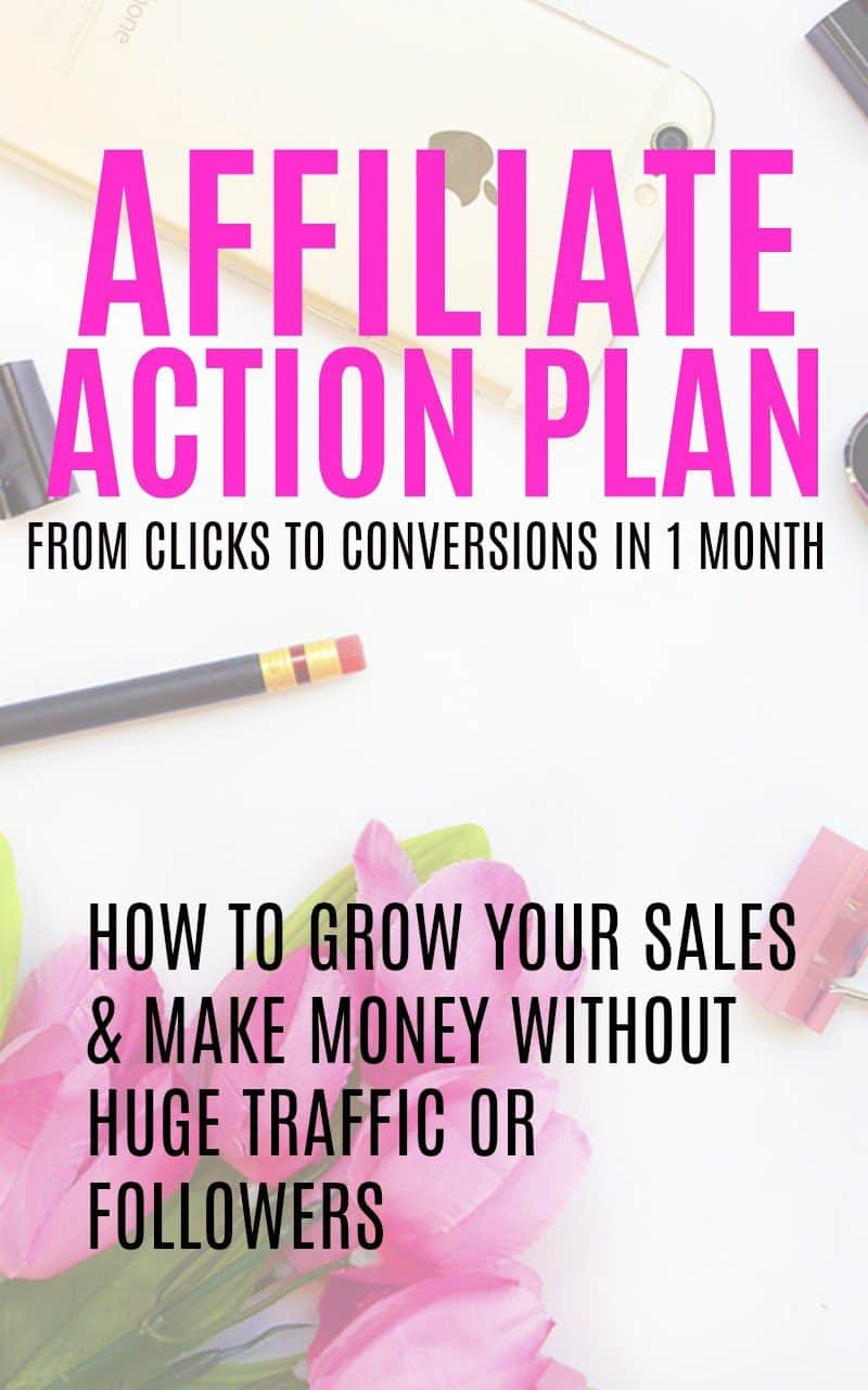 Affiliate Action Plan Ebook for making money from home