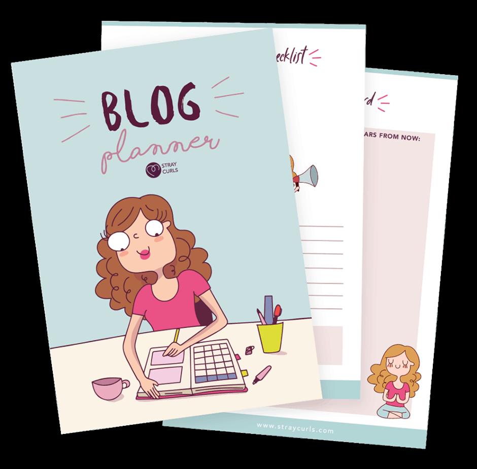 blog task - get a Blog Planner