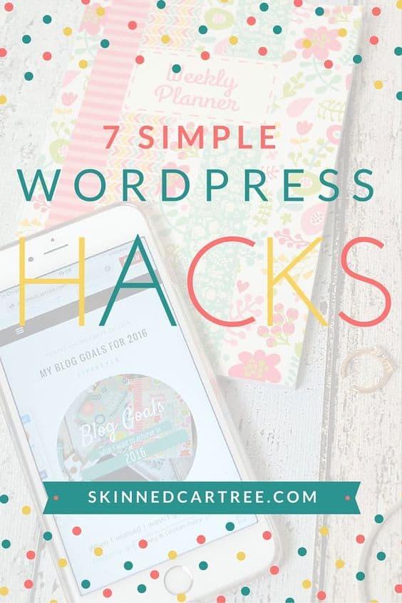 7 Simple WordPress Hacks