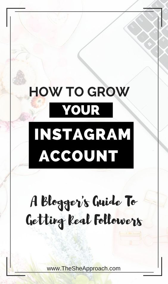 How to grow your instagram account