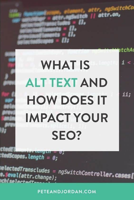 What is Alt text and how does it impact your SEO