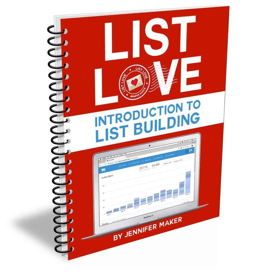 List Love Ebook
