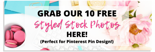 Ad for 10 free stock photos