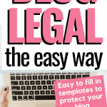 Make Your Blog Legal, the easy way