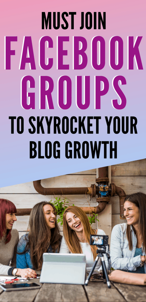 Must Join Facebook Groups to Skyrocket Your Blog Growth