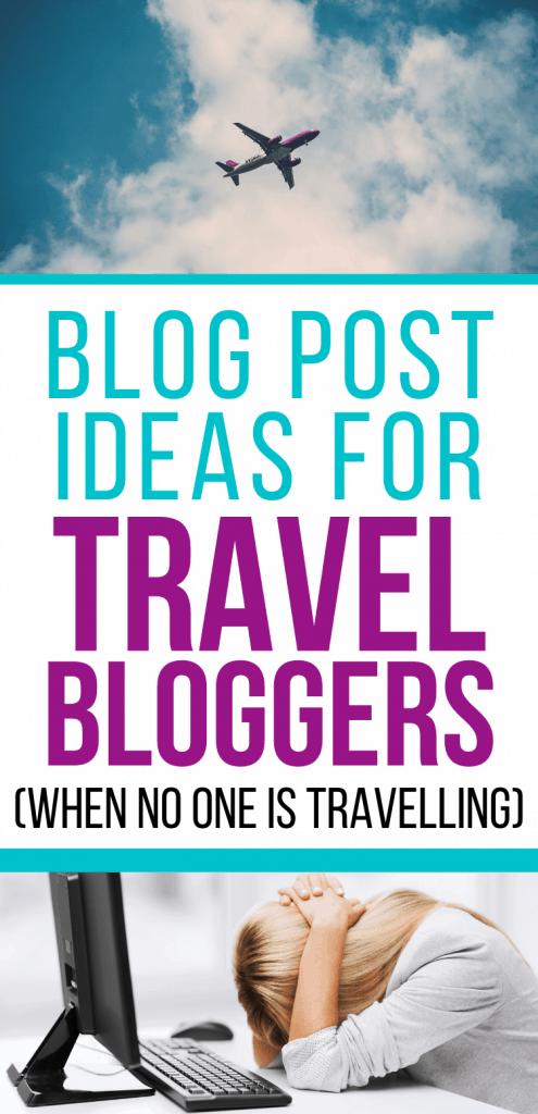 sad travel blogger