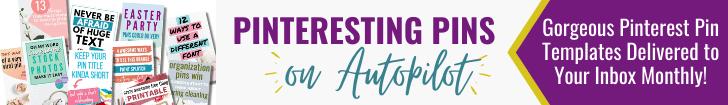 Banner Ad for Pinteresting Pin on Autopilot Membership