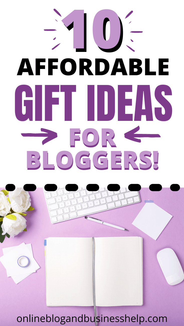 10 affordable gift ideas for bloggers and entrepreneurs