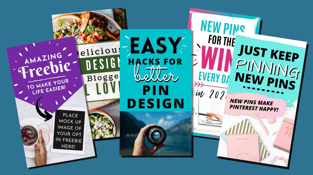 5 Free Pinterest Pin Templates