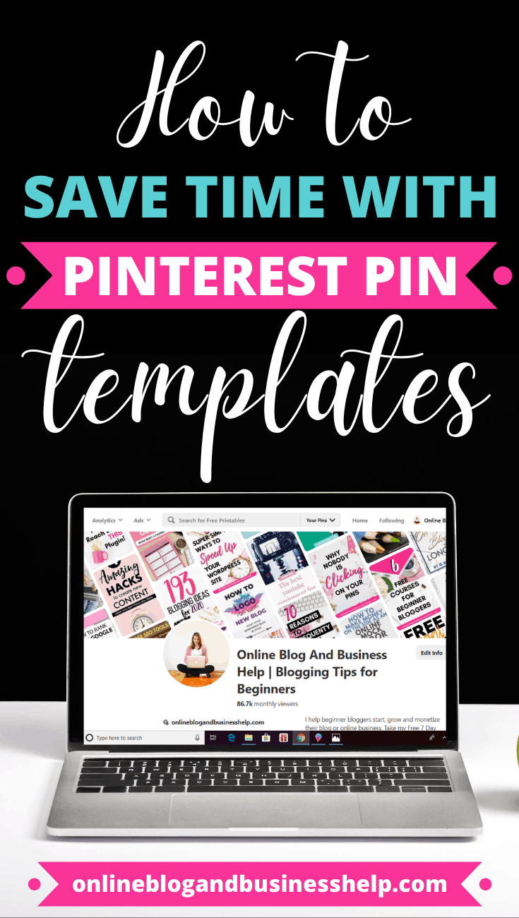 How to Save Time With Pinterest Pin Templates