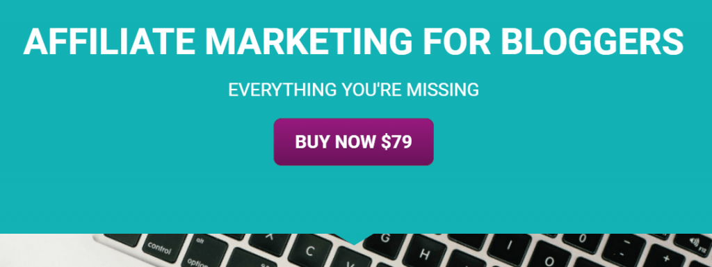 Ad for Affiliate Marketing blogging courses
