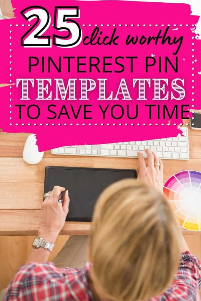 25 Affordable Pinterest Pin Templates